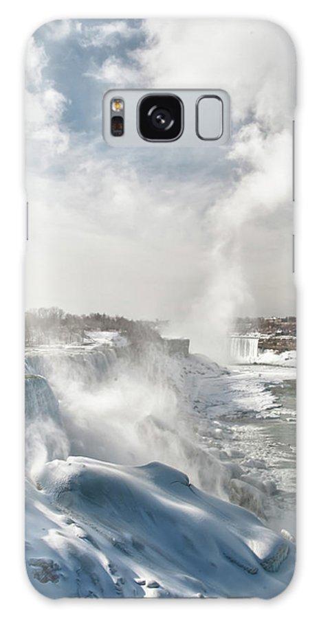 Niagara Falls Galaxy S8 Case featuring the photograph Niagara Falls 4601 by Guy Whiteley