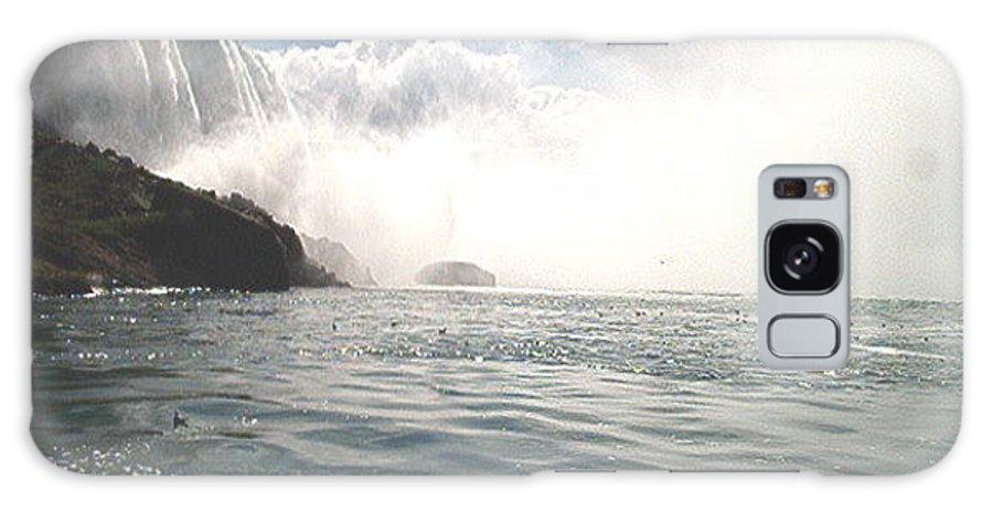 Landscape Galaxy S8 Case featuring the photograph Niagara Falls by Debbie Levene