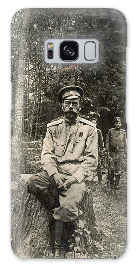 1917 Galaxy S8 Case featuring the photograph Nicholas II (1868-1918) by Granger