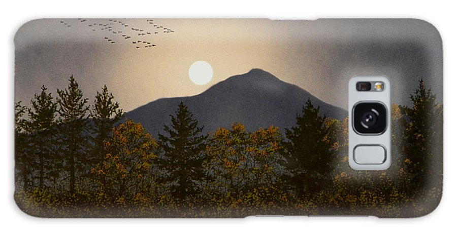 Mountains Galaxy S8 Case featuring the painting Night Calls by Frank Wilson