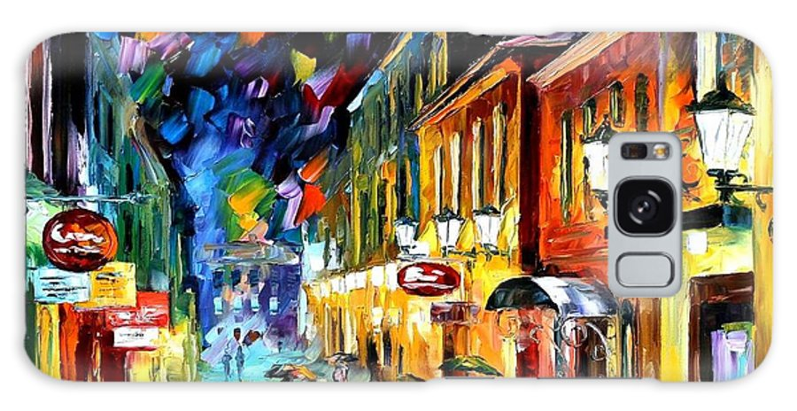 Afremov Galaxy S8 Case featuring the painting Night Etude by Leonid Afremov