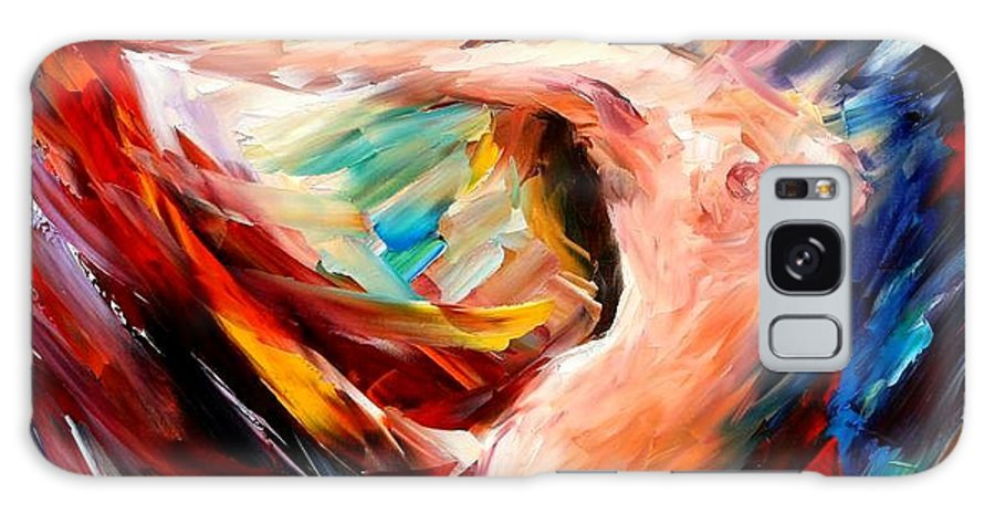 Nude Galaxy S8 Case featuring the painting Night Flight by Leonid Afremov