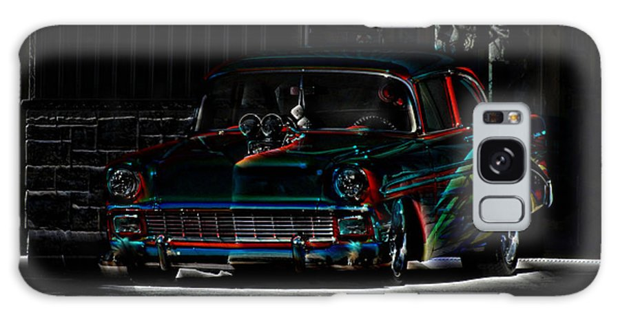 Hot Rod Galaxy S8 Case featuring the photograph Night Rider by Andy Klamar