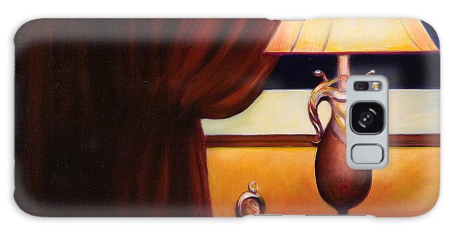 Still Life Red Galaxy Case featuring the painting Night by Shannon Grissom