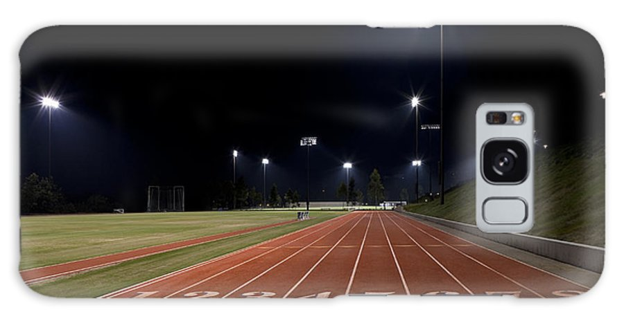 Sports Galaxy S8 Case featuring the photograph Night Time Run by Kelley King