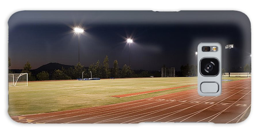 Sports Galaxy S8 Case featuring the photograph Night Training by Kelley King