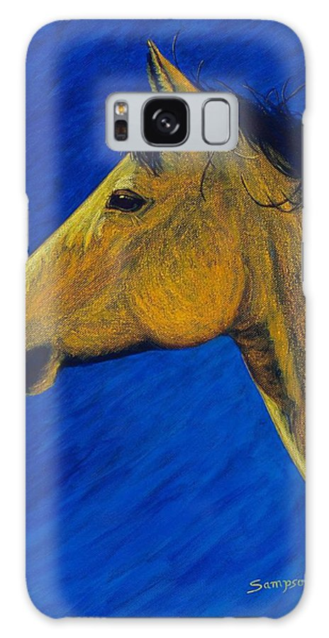 Cynthia Sampson Galaxy S8 Case featuring the painting Night Wind by Cynthia Sampson