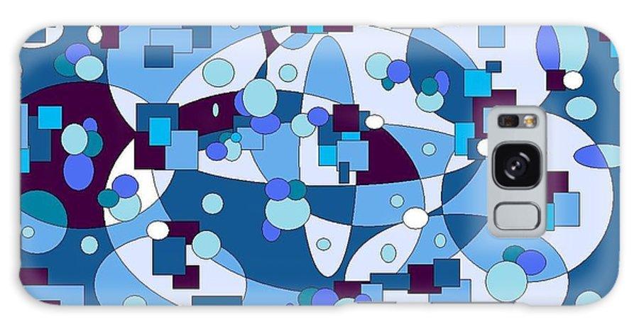 Digital Artwork Galaxy S8 Case featuring the digital art Nightall by Jordana Sands