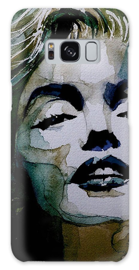 Marilyn Monroe Galaxy Case featuring the painting No10 Larger Marilyn by Paul Lovering