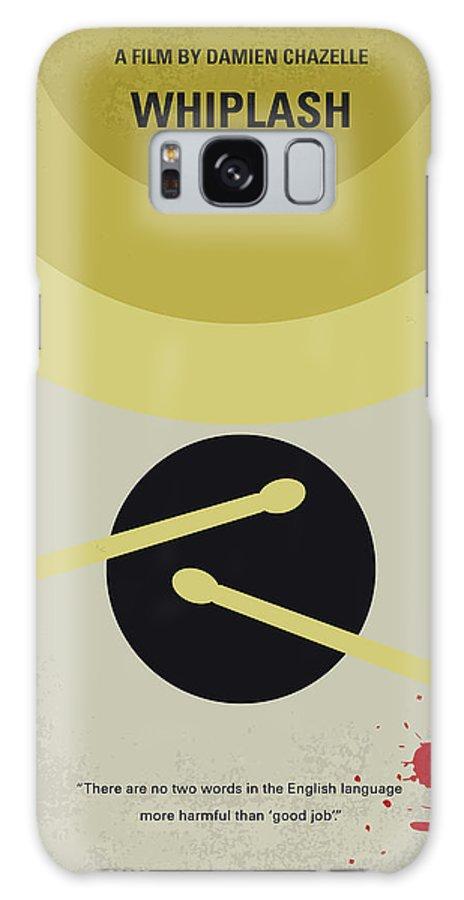 Whiplash Galaxy Case featuring the digital art No761 My Whiplash minimal movie poster by Chungkong Art