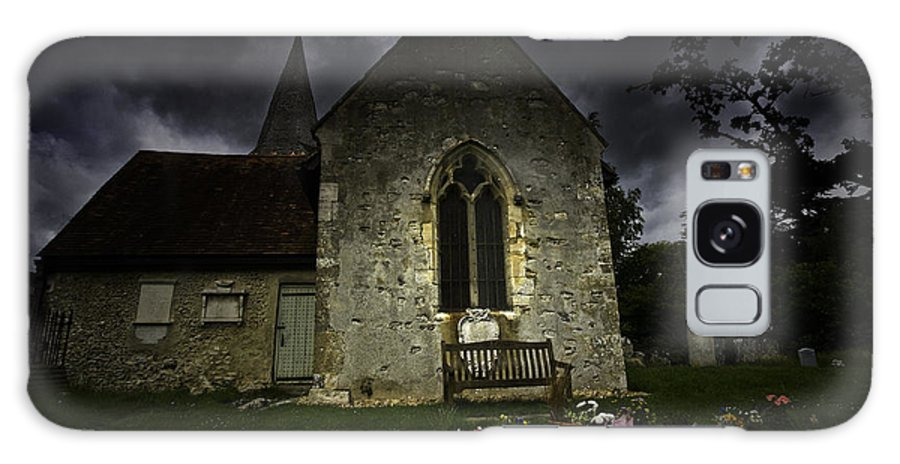 Church Galaxy S8 Case featuring the photograph Norman Church At Lissing Hampshire England by Sheila Smart Fine Art Photography