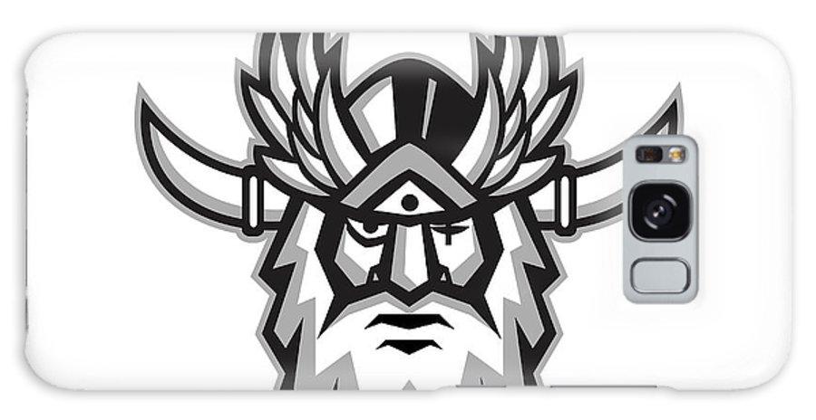 Norse God Odin Head Retro Galaxy S8 Case