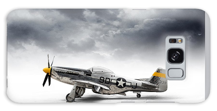 P-51 Mustang Galaxy S8 Case featuring the digital art North American P-51 Mustang by Douglas Pittman