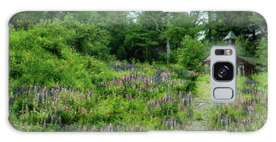 Lupine Galaxy S8 Case featuring the photograph North Country Nod To Monet by Wayne King