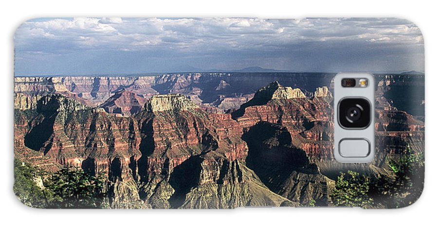 Grand Canyon; National Parks Galaxy S8 Case featuring the photograph North Rim by Kathy McClure