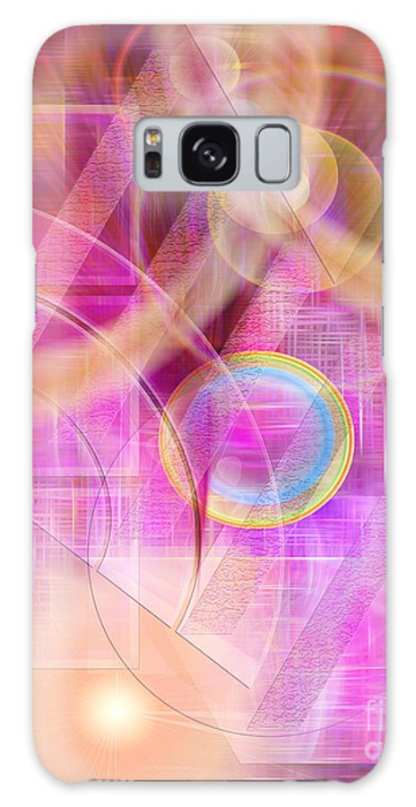 Northern Lights Galaxy S8 Case featuring the digital art Northern Lights by John Beck