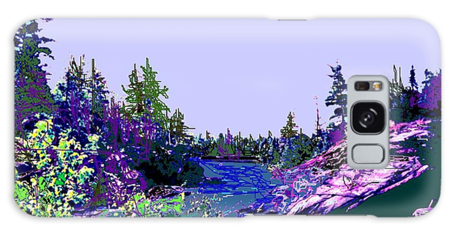 Norlthern Galaxy S8 Case featuring the photograph Northern Ontario River by Ian MacDonald