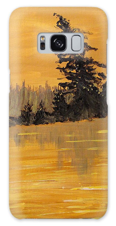 Northern Ontario Galaxy S8 Case featuring the painting Northern Ontario Three by Ian MacDonald