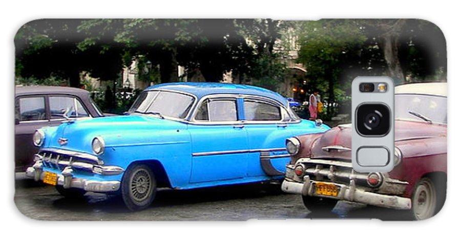 Cuba Galaxy S8 Case featuring the photograph Nostalgia by Karen Wiles