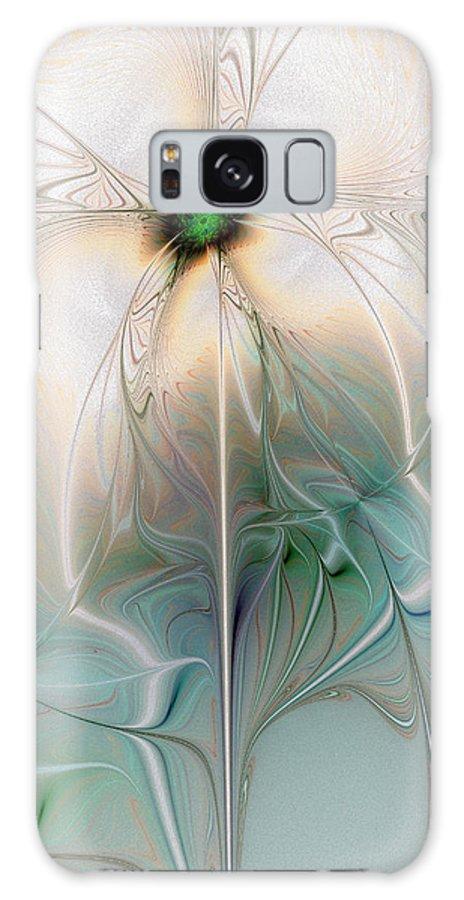 Digital Art Galaxy Case featuring the digital art Nostalgia by Amanda Moore