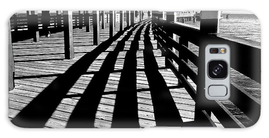 Pier Galaxy S8 Case featuring the photograph Nostalgic Walk On The Pier by Carol F Austin