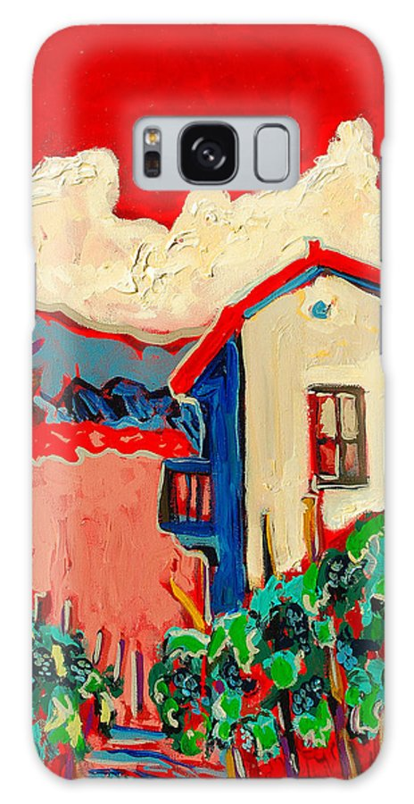 Tuscany Galaxy S8 Case featuring the painting Notare by Kurt Hausmann