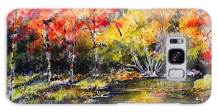Nova Scotia Galaxy S8 Case featuring the painting Nova Scotia by Marti Green