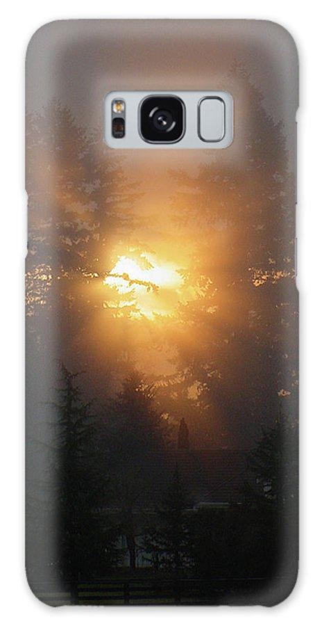 Sun Galaxy S8 Case featuring the photograph November Sunrise - 1 by Shirley Heyn