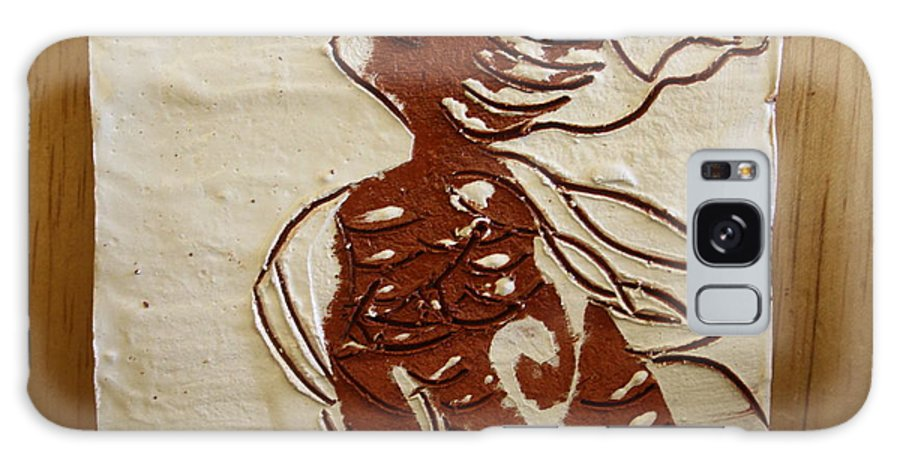 Jesus Galaxy S8 Case featuring the ceramic art Nude 10 - Tile by Gloria Ssali