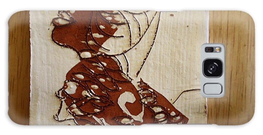 Jesus Galaxy S8 Case featuring the ceramic art Nude 12 - Tile by Gloria Ssali