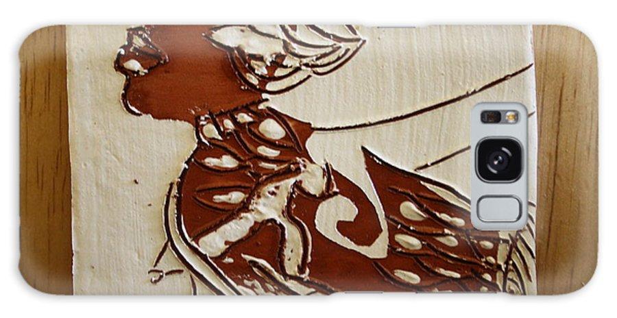 Jesus Galaxy S8 Case featuring the ceramic art Nude 2 - Tile by Gloria Ssali
