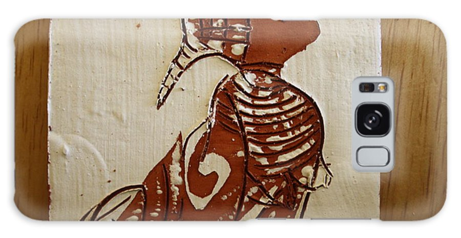 Jesus Galaxy S8 Case featuring the ceramic art Nude 5 - Tile by Gloria Ssali