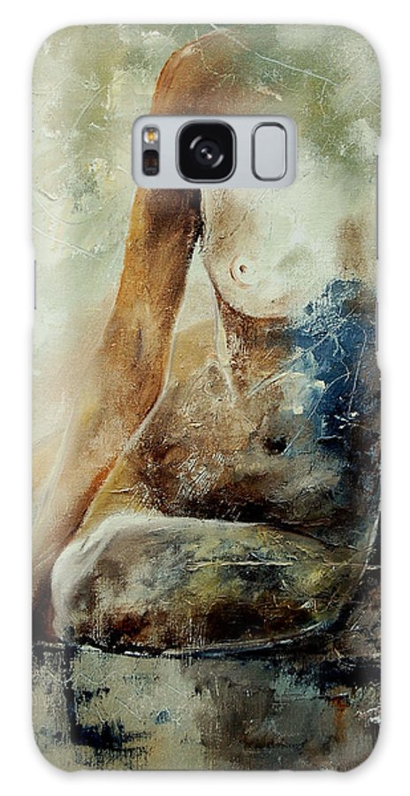 Nude Galaxy S8 Case featuring the painting Nude 560408 by Pol Ledent