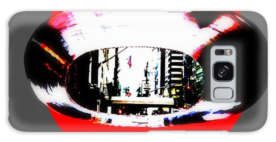 Manhattan Galaxy S8 Case featuring the photograph Ny 57th Street Fisheye by Funkpix Photo Hunter