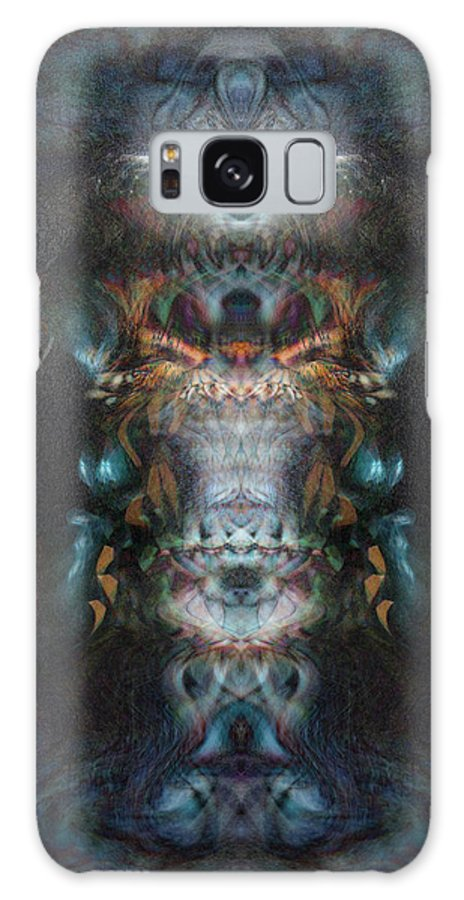 Deep Galaxy S8 Case featuring the digital art Oa-3931 by Standa1one