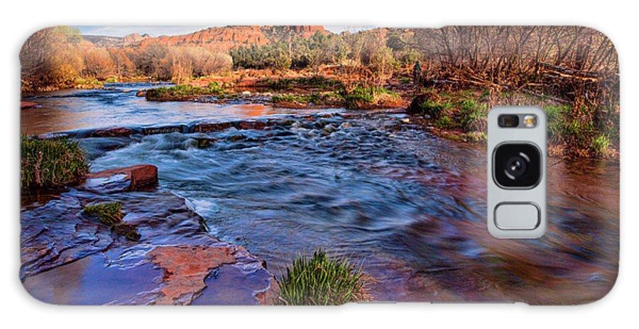 Oak Creek Galaxy S8 Case featuring the photograph Oak Creek by Diana Powell
