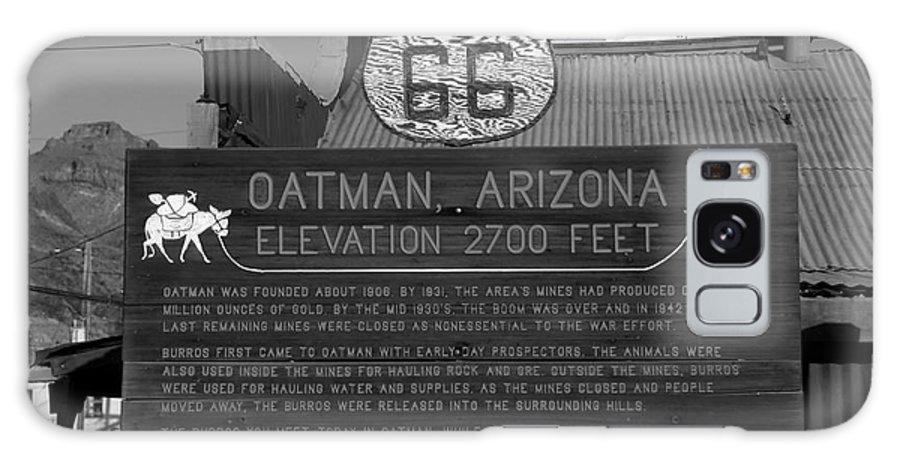 Oatman Arizona Galaxy S8 Case featuring the photograph Oatman Arizona by David Lee Thompson