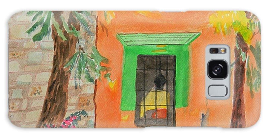 Oaxaca Mexico Church Colors Galaxy S8 Case featuring the painting Oaxaca Mexico Church Colors by Warren Thompson