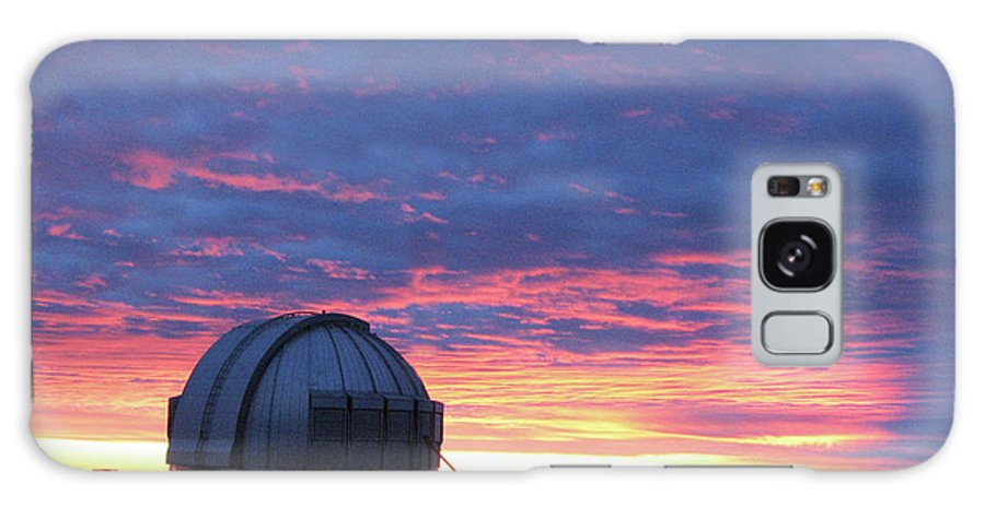 Sunset Galaxy S8 Case featuring the photograph Observatory Sunset by Pauline Darrow