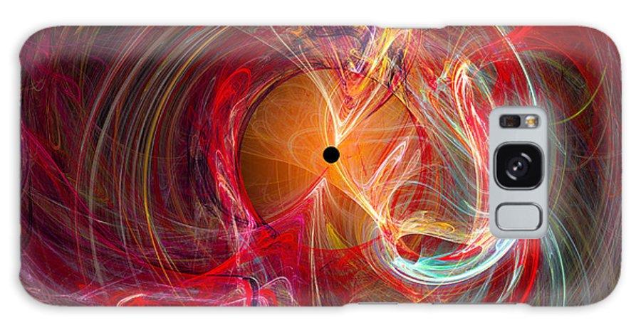 �markwballard Galaxy S8 Case featuring the digital art Occular Orgasm - Cats Eye by Mark W Ballard