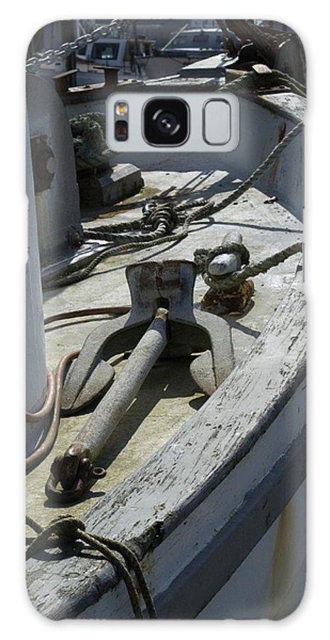 Anchor Galaxy S8 Case featuring the photograph Ocean Bow by Sara Stevenson