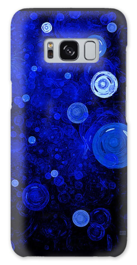 Fractal Galaxy S8 Case featuring the digital art Ocean Gems by Menega Sabidussi