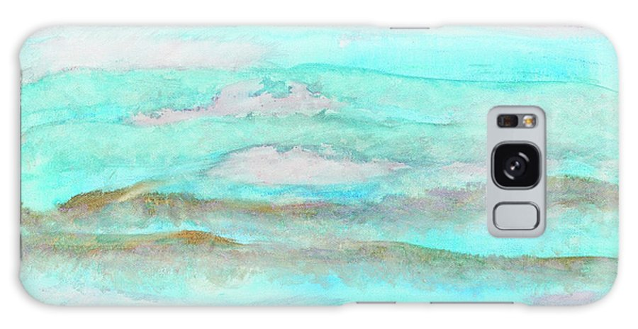 Ocean Galaxy S8 Case featuring the painting Ocean Haze by Madelyn Lavender