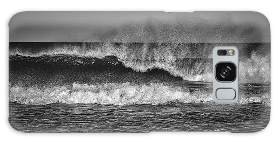 Photography Galaxy S8 Case featuring the photograph Ocean Spray by Raven Steel Design