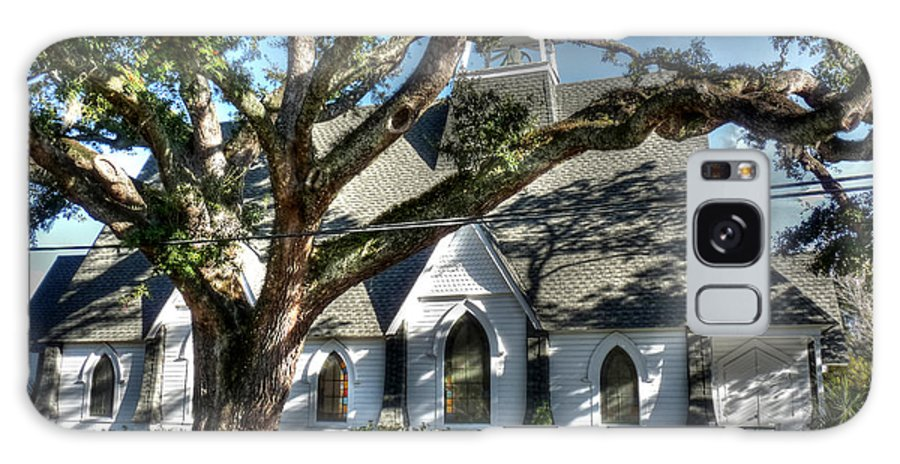 Ocean Springs Mississippi Galaxy S8 Case featuring the photograph Ocean Springs Church by David Bearden