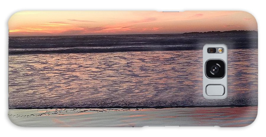Ocean Galaxy Case featuring the photograph Ocean sunset by Shari Chavira