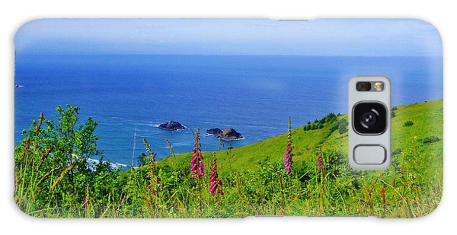 Ocean Galaxy S8 Case featuring the photograph Ocean Views by Terry Matysak