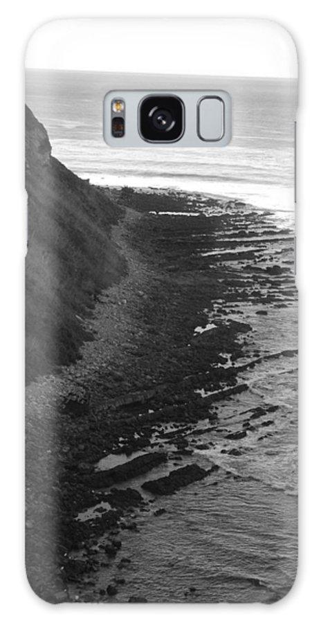 Beaches Galaxy S8 Case featuring the photograph Oceans Edge by Shari Chavira