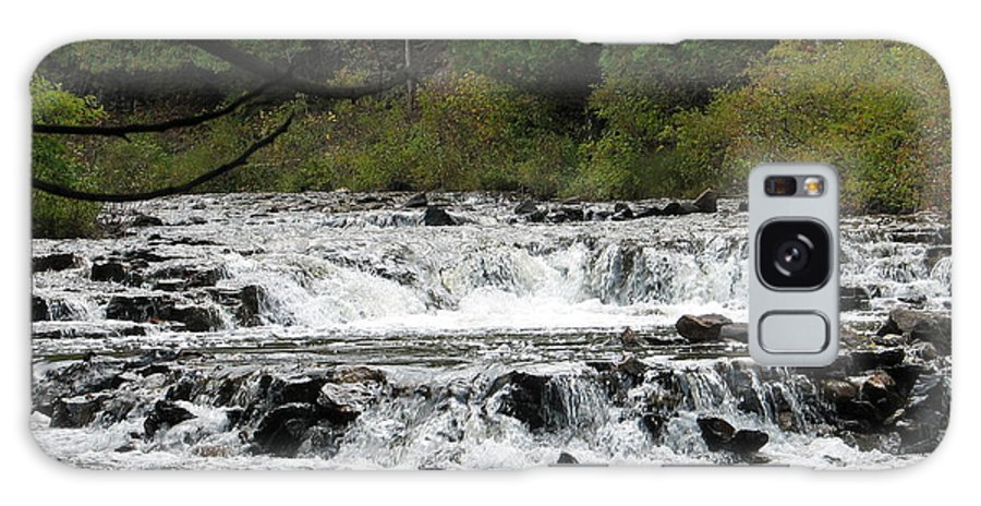 Waterfall Galaxy Case featuring the photograph Ocqueoc by Kelly Mezzapelle