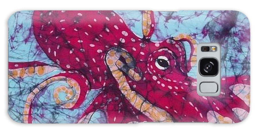 Octopus Galaxy S8 Case featuring the tapestry - textile Octopus by Kay Shaffer